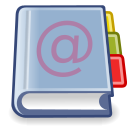 Large address book icon