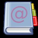 Large address book icon